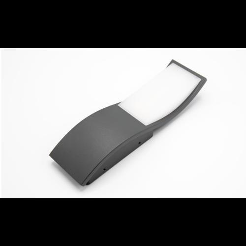 Design wandlamp Mica - antraciet
