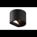 Wandlamp rond Lizzy - antraciet