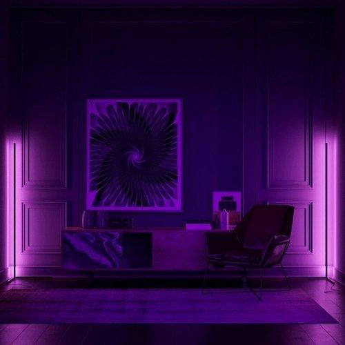 Slimme LED vloerlamp met RGB en Tuya
