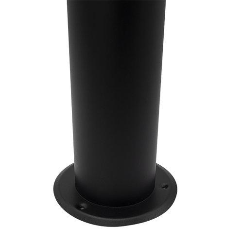 RVS staande buitenlamp  Stella zwart, 50 cm