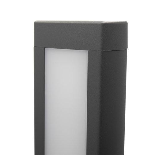 Industriële staande buitenlamp Stein - antraciet