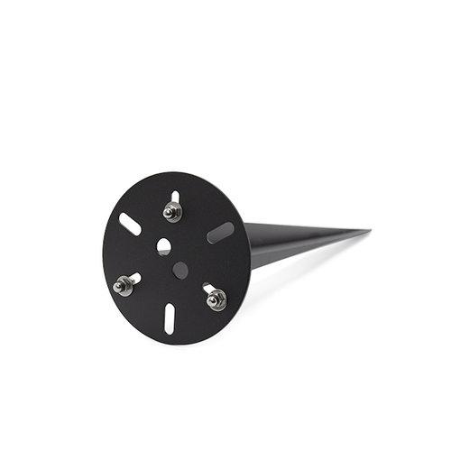 Universele grondpin Enzo, 50 cm - zwart