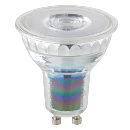 GU10 dim-to-warm LED lamp 2,6W, 2200-2700K