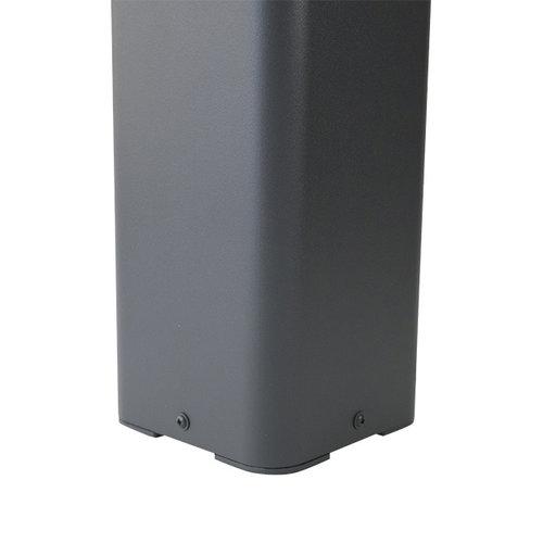 Moderne vierkante staande buitenlamp Rocky - antraciet