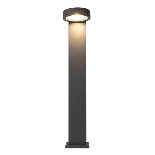 Staande buitenlamp Lucas in antraciet, 50 cm