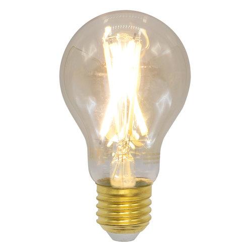 E27 dim-to-warm LED lamp, Ø60mm, 6,5W, 1800-3000K