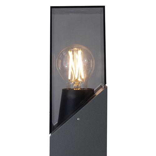 Industriële staande buitenlamp Jet - antraciet