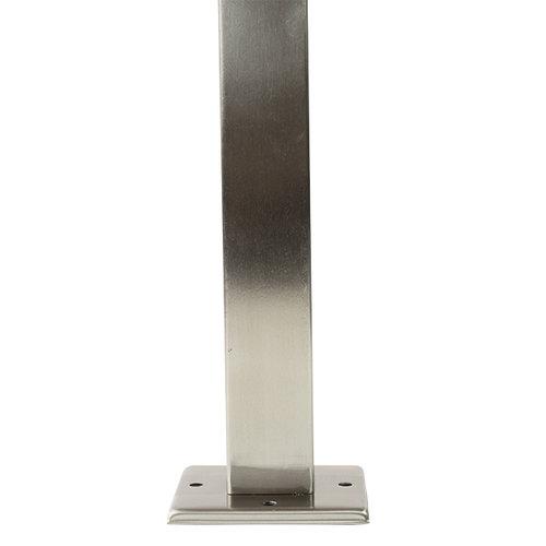 Klassieke buitenlamp Rocco RVS, 45 cm