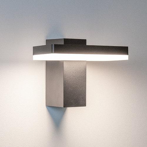 Design buitenwandlamp Roberto - zwart