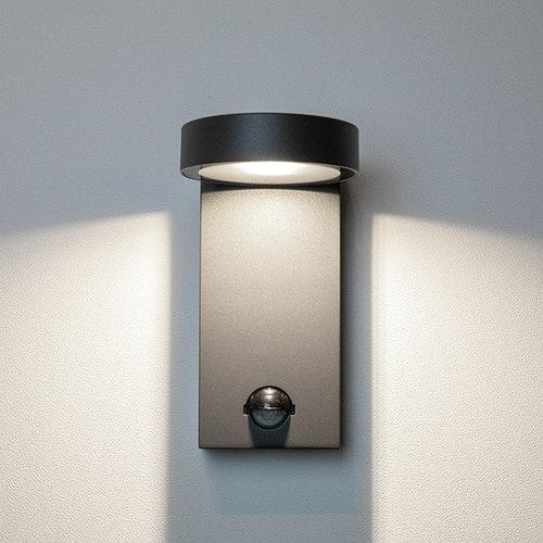 Wandlamp Luca met sensor - antraciet