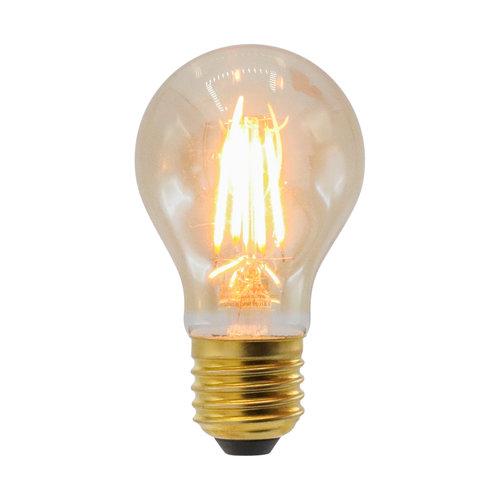 Prikkabel set met 2,5W of 4,5W lamp, 2000K, Ø60, amber glas, dimbaar - incl. dimmer