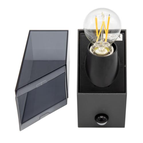 Wandlamp industrieel Jasper - antraciet