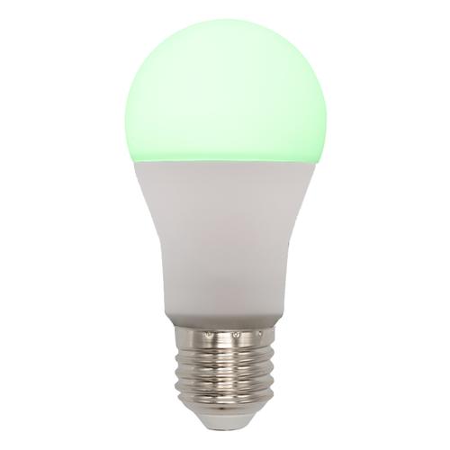 E27 slimme dimbare RGB en CCT LED lamp, 10W