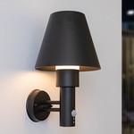 Buiten wandlamp met lampenkap en sensor - Marta