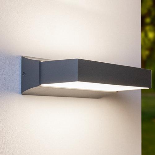 Moderne buitenwandlamp Onyx - antraciet