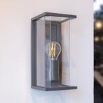 Moderne buitenwandlamp Flavio IP44 - antraciet