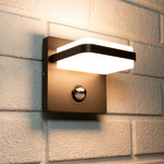 Wandlamp met sensor Stefano - antraciet