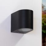 Moderne muurlamp Nela - zwart