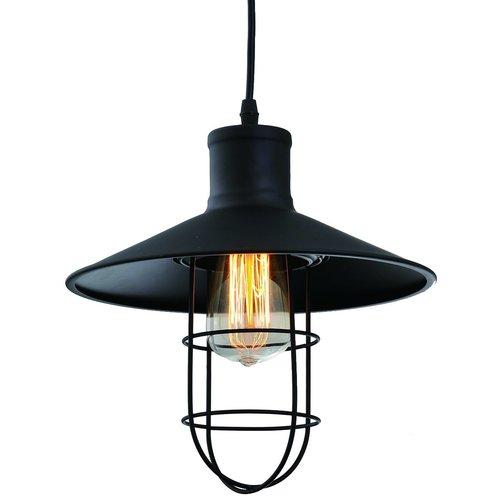Industriële hanglamp zwart staal - Kiev