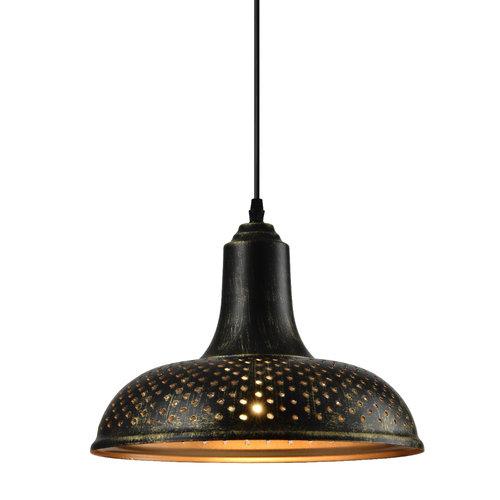 Industriële hanglamp brons - Marrakesh