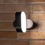 Moderne draaibare muurlamp Isabelle - zwart