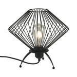 Industriële tafellamp met zwart metaal - Spider