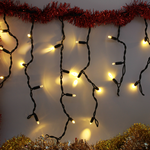 IJspegelverlichting | 15 meter met 570 lampjes – Warm wit