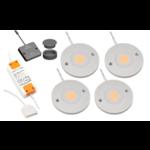 LED kastverlichting Kaya complete set van 4 spots