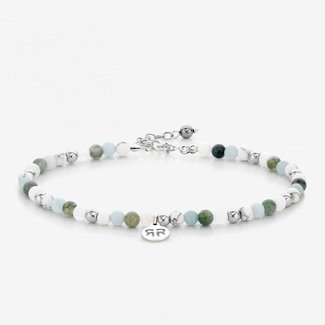 Rebel & Rose Anklet Green fantasy - 4mm