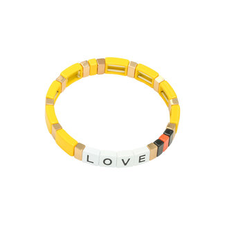 Yehwang Bracelet Colourful Love | Yellow