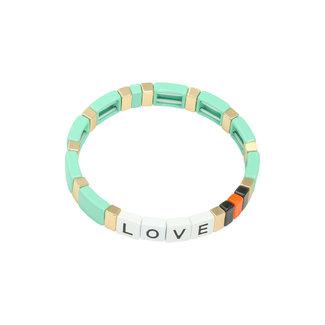 Yehwang Bracelet Colourful Love | Green