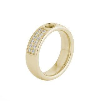 Melano Jewelry Vivid Vicky CZ  Ring | Goud