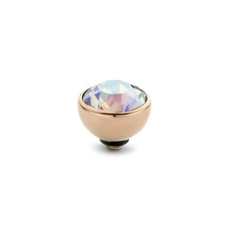 Melano Jewelry Twisted Basic Cz Steentje | Rosé | 8mm