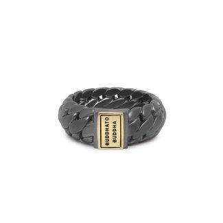 Buddha to Buddha Ring Ben Small Black Rhodium Goud