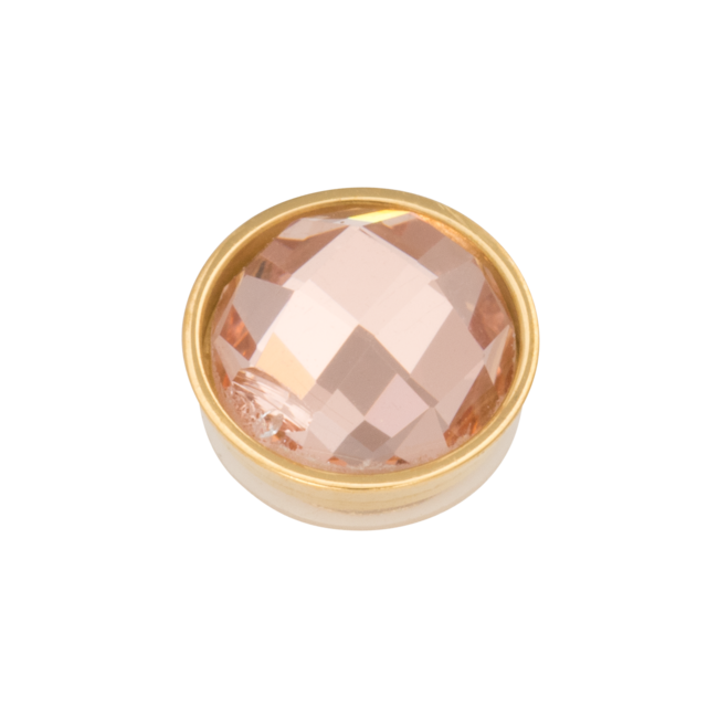 iXXXi Jewelry Top Part- Facet Champagne Goudkleurig