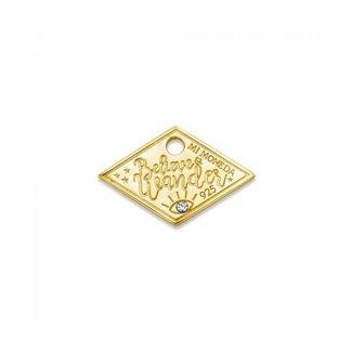 Mi Moneda Mi Moneda Monogram tag Wander 20mm