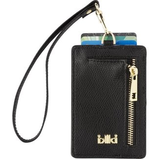 IKKI MADISON Cardholder Black Smooth