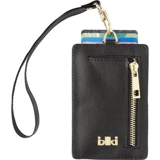 IKKI MADISON Cardholder Black Silky
