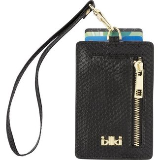 IKKI MADISON Cardholder Black Snake