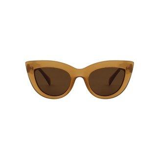 A.Kjærbede Zonnebril Stella – Light Brown Transparent