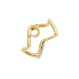 Melano Jewelry Vivid Viona Ring Goudkleurig