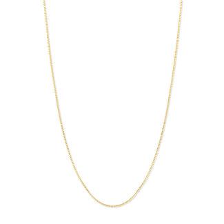 Melano Jewelry Molly 1.5mm Necklace Goudkleurig