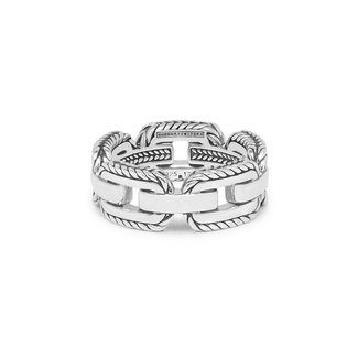 Buddha to Buddha Barbara Link Ring Silver