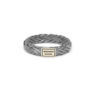 Buddha to Buddha Katja XS Ring Black Rhodium Shine Gold 14kt