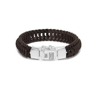 Buddha to Buddha Lars Leather Bracelet Brown