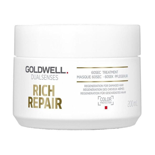 Goldwell Dualsenses Rich Repair 60-Sec Treatment 200ml