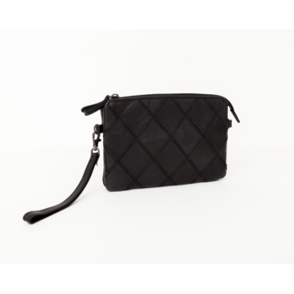 BAG2BAG Party Collectie Clutch Madrid Black