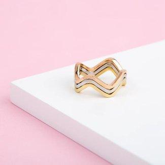 Melano Jewelry Friends On My Level Ring Set