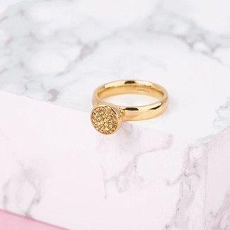 Melano Jewelry Twisted Eyes like stars Ringset