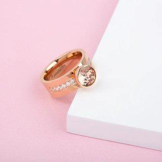 Melano Jewelry Twisted Choose To Shine Ringen Set